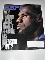 ESPN MAGAZINE MAY 8 2017 LEBRON JAMES NEW&UNREAD - IS HE AT HIS BREAKING POINT?