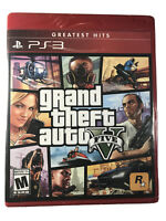 Grand Theft Auto V/5 (PlayStation 3/PS3, 2013) Brand New/Factory Sealed