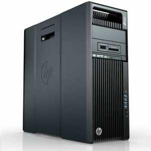 HP-Z640 E5-2687W v3, 32GB PC4 Radeon Pro WX2100, HP Z-Turbo NVMe 512GB + 6TB HDD