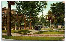 1907 A Corner in Court Square, Memphis, TN Postcard