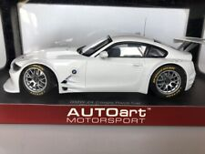 1:18 AUTOart BMW Z4 Coupe Race Car Plain Body Version