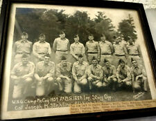 1959 Wisconsin National Guard Camp McCoy 2nd B.G.128th Inf. Staff Off./Photo