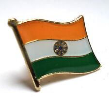 India Flag Lapel Pin Badge Superior High Quality Gloss Enamel