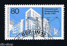 GERMANIA BERLINO BERLIN 1 FRANCOBOLLO ESPOSIZIONE ARCHITETTURA 1987 timbrato