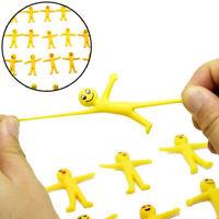 5pcs Anti-Stress-Squeeze gelben Kerl Neuheit &Gag Spielzeug DekompressionSpaßG3D