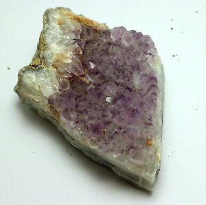 Amethyst Druze Specimen With Tips India Approx. 515 Grams/Approx. 80 X 60 MM