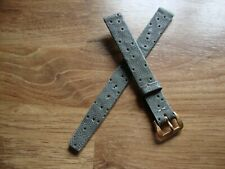 Ladies 12mm Vintage TISSOT Seawater Resistant Watch Strap,10mm G/P TISSOT Buckle