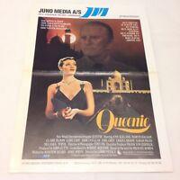 Queenie Kirk Douglas Claire Bloom Ackland Balsam 1987 Danish Movie Press Release