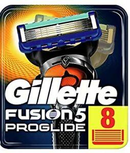 Gillette Fusion Proglide, 8 Lamette. Prodotto Nuovo, Sigillato Originale