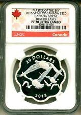 2015 Canada S$20 Masters Of The Sky Canada Goose FR NGC PF70 Ultra Cameo