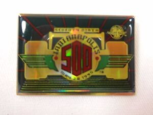 1995 Indianapolis 500 Collector Event Lapel Pin Jacques Villeneuve Team Green