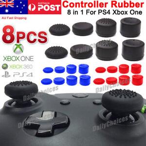 8 PCS PS4 Xbox One/360 Controller Rubber Cap Thumbstick Thumb Stick Grip Cover