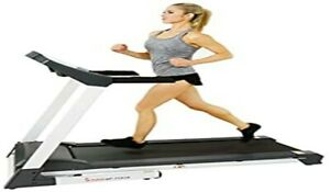 SUNNY HEALTH & FITNESS SF-T7515 SMART TREADMILL WITH AUTO INCLINE (BRAND NEW)