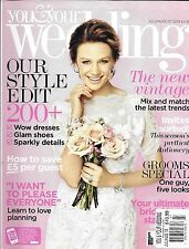 You And Your Wedding Bridal Magazine The New vintage Grooms Special Dresses 2013