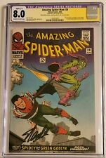 Amazing Spider-Man #39 CGC graded 8.0 SS Signed Stan Lee
