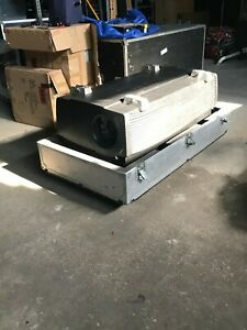 Barco ELM R12 DLP Projector, 12000 Lumens, Lenses, Cases, EXTRA New Bulb