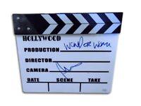 "Patty Jenkins Autographed Movie Clapper ""Wonder Woman"" Director JSA DD73545"