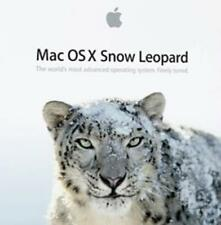 Mac OS X Snow Leopard 10.6 MAC DVD modern operating system home work desktop!