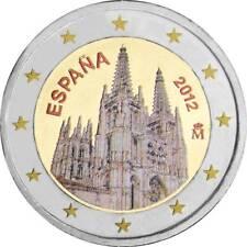 España 2 euro 2012 Burgos Cathedral farbmünze encapsulado UNC./8639546# #