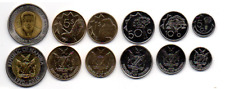Namibia - Set 6 Coins 5 10 50 Cents 1 5 10 Dollars 2009 - 2012 UNC Lemberg-Zp
