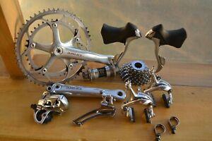 Shimano dura ace 7700 groupset for vintage road bike, like compagnolo/sram +GIFT