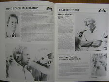 1986 Southern Utah State College Football Media Guide(JACK  BISHOP/KYLE  WILSON)