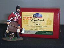 BRITAINS 17610C NAPOLEONIC WAR COLDSTREAM GUARD SAPPER METAL TOY SOLDIER FIGURE