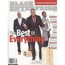 Magazine Black Enterprise August 2007 Sartorial Splendor Terry Crews Derek Luke