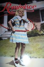 REMINISCE MAGAZINE FROM MAY/JUNE 1997 GIRL WITH HULA HOOP
