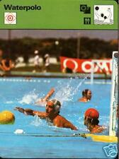 WATERPOLO 1977 FOCUS ON SPORTS CARD