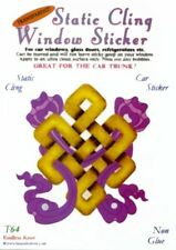 Endless Knot Static Cling Window Sticker