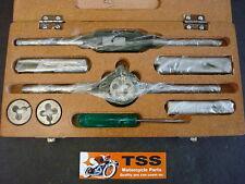 """20-375 TRIUMPH BSA NORTON TAPS & ROUND DIES SET 1/4"""" X 26-3/8"""" X 26 CEI CS-0599"""