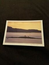 Postcard Camden Harbor From Mount Battie Maine Me M1