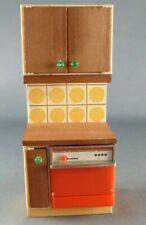 Lundby of Sweden Réf 2551 - Lave Vaisselle Meuble Cuisine Continentale Maison de
