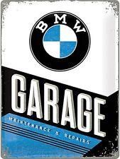 Garage BMW Grandi In Metallo Muro Firmare 400mm x 300mm (NA)