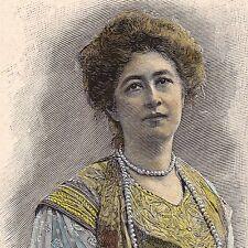 Portrait Jean Pommerol Lucie Guénot Femme de Lettre Orientalisme Sens Yonne
