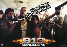 12 Photos Exploitation Cinéma 21x29.5cm (2004) B13 - BANLIEUE 13 Cyril Raffaelli