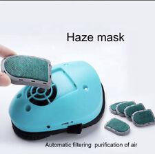electric mask reusable respirator air purifying mask anti-haze protection