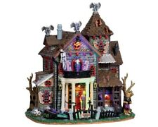 Lemax Spooky Town 13 GHASTLY LANE #05003 BNIB With Adaptor FREE SHIPPING