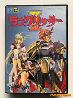 LANGRISER II 2 + Registration Card MD Sega Megadrive JAPAN