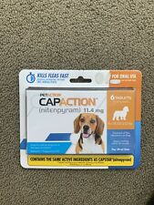 New listing Capaction for dogs 2-25 lbs (6 tablets per.order)