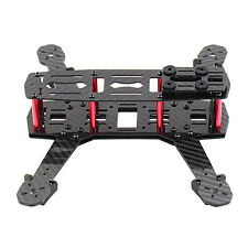 250mm Mini Multicopter Quadcopter Racing Drone Glassy Carbon Frame Kit FPV ED