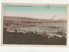 Birds Eye View Weston Super Mare 1929 Postcard 482a