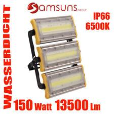 150W SMD COB LED Fluter Außen Strahler Leuchte Scheinwerfer Flutlicht IP66