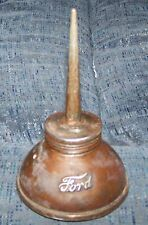 Antique FORD  embossed script model A T oil can