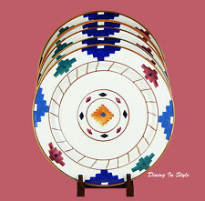 Set of 2 Dinner Plates, SUPERB! Condition! Hartstone, Cheyenne, Aztec