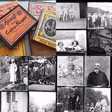 FRANCE PORTRAITS 1900 130 PLAQUES PHOTOS VERRE 9x12 PHOTOGRAPHIES NEG
