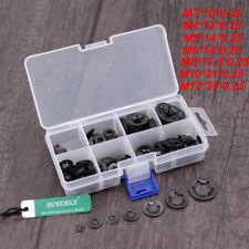 NEW Steel Push On Lock Washer Speed Grab Fastener Nut Round Flat 260pcs Pack