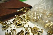 Wholesale 25 pieces Brass Strap holder. gold