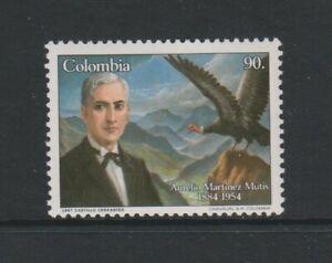 Columbia / Colombia - 1987,Aurelio Martinez Mutis,Poet Briefmarke - MNH - Sg